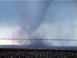 tornado with debris cloud